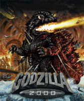 Godzilla 2000 color by Amwuensch