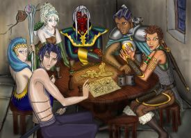 Pub Meet - A typical party by SuzyKing