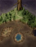 The Island Cave by torstan