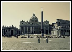 St. Peter's Basilica by Elessar91