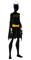 My Dc Reboot Blackbat by jsenior