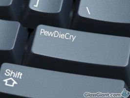 PewDieCry button by XxGames-And-MusicxX