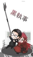 william and grell by DanteX1921