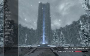 Skyrim Rainmeter Desktop Mod by Deckronomicon