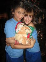 us with teddy bear by Bella--and--Zendaya