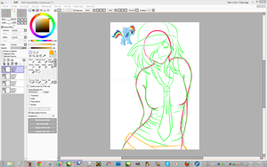 Rainbow Dash WIP by Lali-the-Bunny