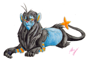 The Luxray King by phoenixsong