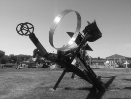 sculpture three by simpspin