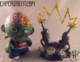 Experiment no. 2814 Munny by MostlyHarmlessVinyl