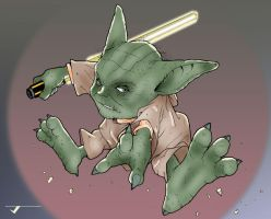 Yoda by Ragelion by Blindman-CB