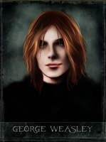 George Weasley - tarot series by Patilda