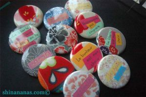 Badges serie 1 by faratiana