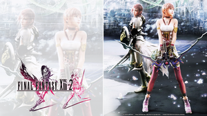 Another FF13-2 Wallpaper by RockInFighteR