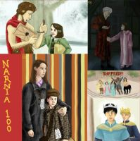 Narnia 100.3-6 - 1, 28, 55, 65 by picklelova