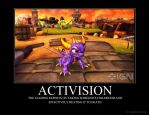 Spyro Demotivational Poster 2 by SapphireSaphira