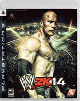 WWE 2K14 Cover ~ 2nd edition by MhMd-Batista