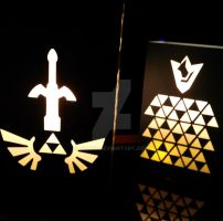 Zelda Light Box by DCatz