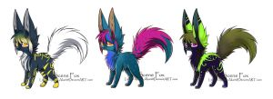 Fox auction adopt [OPEN] by Vibakae