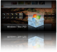 Windows 7 Box .PSD by giannisgx89