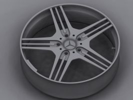 ///AMG Rim Attempt by ArmourOne
