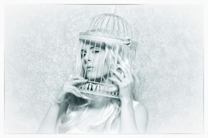 Royal Cage, Caged Series by Seraphina-Song