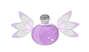 Cutie Mark Auction Magic Bottle [CLOSE] by DelLyra