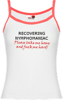 T-Shirt - Recovering Nympho by jessiesheram
