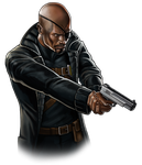 Canceled project - Nick Fury by Fan-the-little-demon