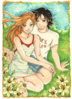 Honey and Clover by GilwenGreenleaf