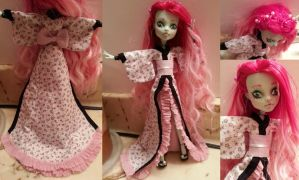 Monster High Custom, Frankie by simplysteffie