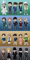 DC Chibis - Part 4 by CelestialRayna