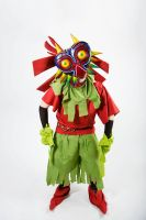Majora cosplay by Spectral-Beanie