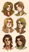 LitV Characters by CrystalCurtis