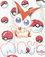 Victini Cover by Ryuzaki236