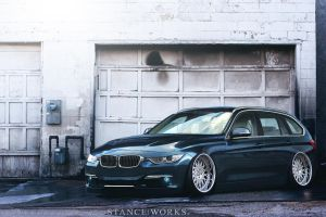 2013 BMW 3 Series Wagon by Sk1zzo
