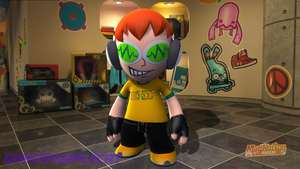 Beat in ModNation Racers by GiantPurpleCat