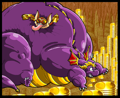 Big Fat Greedy Spyro. by Virus-20