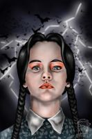 Wednesday Addams by Coferniecus