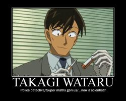 Takagi - The SCIENCE Genius :D by DetectiveConanFan