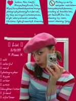 Pink Berret ID by crimson-rose01