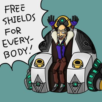 Free Shields for Everybody by KellyNewbie