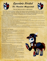 Eq. Divided Non-canon group: Phantom Masquerade by Purplealloy01