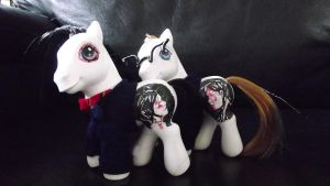 Three Cheers, MCR- My Little Pony Customs by Cemetery-Nightmare