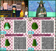 Animal Crossing QR Code Nando's Outfit by SuperAngel502