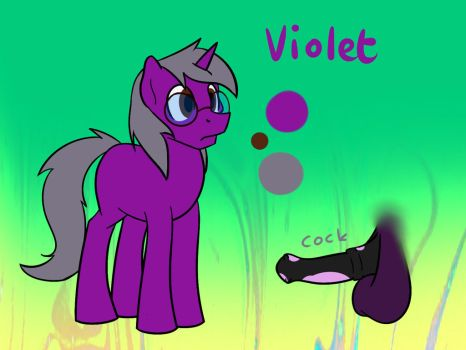 New Violet Reference By Drawycolours by techboy15