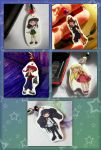 Anime Phone Charms by thedustyphoenix