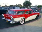 1957 Buick wagon rear by Partywave