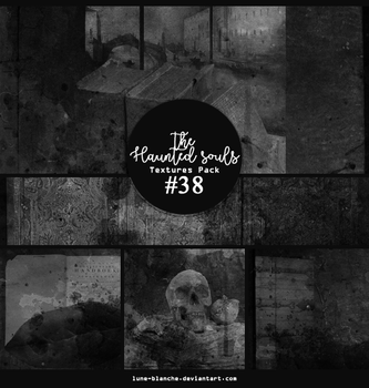 Textures pack #38 - The Haunted Souls by lune-blanche