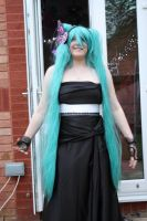 Miku Hatsune magnet cosplay by Catlover122