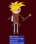 Order of the Stick Style Ryan Weever by Gatlinggundemon9